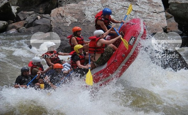 River people white water